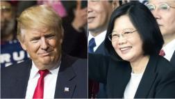 Polémica por diálogo de Trump con presidenta de Taiwán
