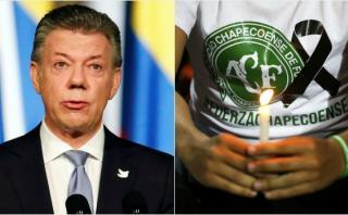 """Santos: """"El Chapecoense quedará en nuestra memoria"""""""