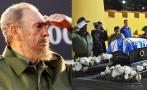 Cenizas de Fidel Castro, cerca de su destino final