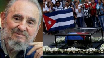 El último recorrido de las cenizas de Fidel Castro [EN VIVO]