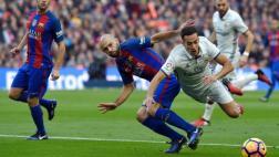 Real Madrid: ¿fue penal de Mascherano contra Lucas Vázquez?