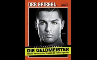 Cristiano Ronaldo y la polémica portada por evasión fiscal