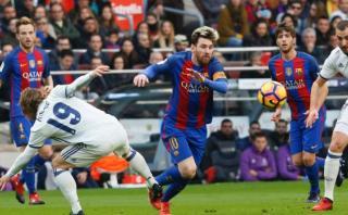 Messi fue capitán de Barcelona por primera vez ante Real Madrid