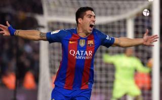 Barcelona: Luis Suárez anotó ante Real Madrid con este cabezazo