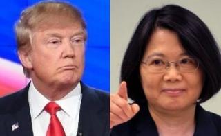 China protesta por diálogo entre Trump y presidenta de Taiwán