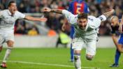 El agónico gol de Ramos para empate ante Barcelona
