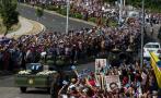 Así se despiden de Fidel en su último recorrido [FOTOS]