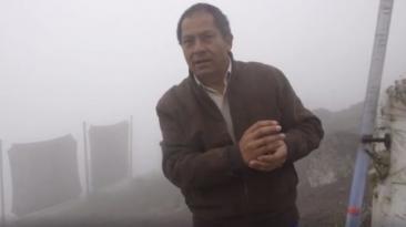 Abel Cruz, el atrapanieblas que lleva agua a los más pobres