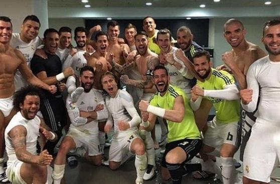 Cristiano Ronaldo y su singular gesto en festejo de Real Madrid
