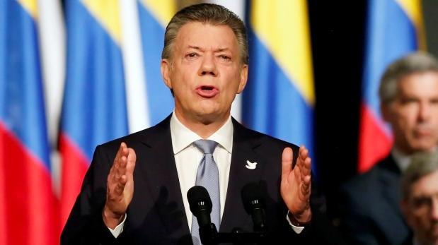 Nobel de la Paz fue un regalo caído del cielo: Santos