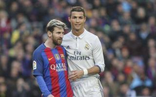 ¿Qué se dijeron Messi y Cristiano en fotografía inmortalizada?