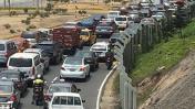 Accidente vehicular provocó gran congestión en la Costa Verde