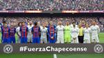 Barza-Real Madrid: emotivo minuto de silencio por Chapecoense - Noticias de accidente