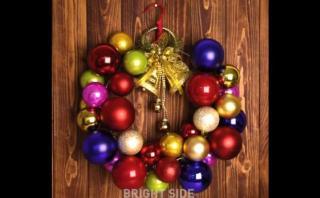 Facebook: tres adornos navideños hechos con cosas caseras