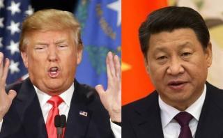 Donald Trump cuestiona política militar y monetaria de China