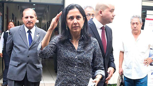 """La ex primera dama Nadine Heredia dijo que el ex presidente Alan García y la ex candidata presidencial Keiko Fujimori """"pasean por el mundo"""" siendo investigados. (Foto: Andina/ Video: Panamericana TV)"""
