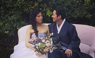 """The Walking Dead"": actor que interpretó a Glenn se casó"