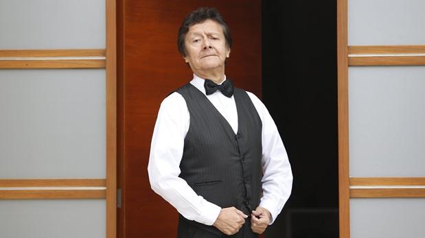 Adolfo Chuiman, en un principio, no quería ser Peter, el mayordomo de