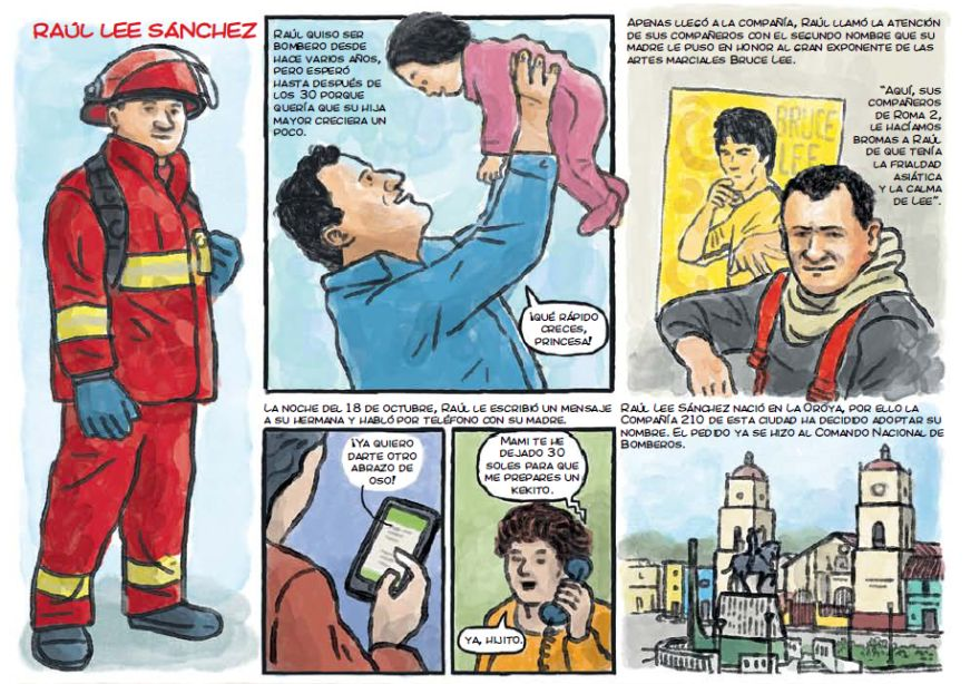 El motivo de la alerta fue por un incendio en la fábrica de suelas Pionnisan S.A.C. El fuego alcanzaba a un almacén de medicinas del Ministerio de Salud. (El Comercio)
