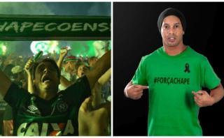Chapecoense: ¿Ronaldinho está en los planes de reconstrucción?