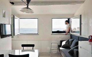 Este ático de 35 m2 lo tiene todo para vivir cómodamente