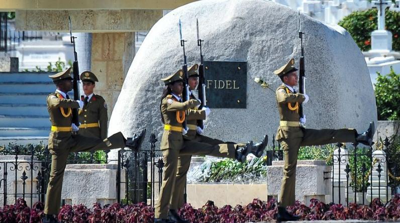 Después de nueve días de duelo, las cenizas del ex dictador cubano Fidel Castro, que murió el 25 de noviembre a los 90 años de edad, descansarán en el cementerio de Santa Ifigenia. (Foto: Reuters)