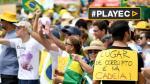 Miles protestan en todo Brasil hartos de la corrupción [VIDEO] - Noticias de playa de copacabana