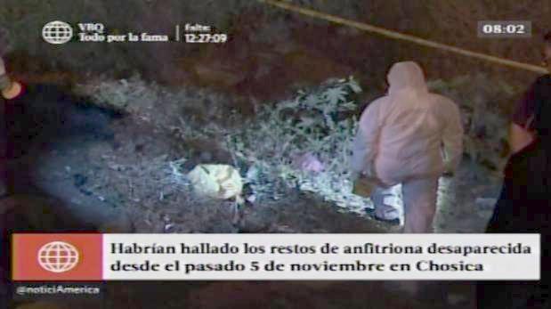 Saavedra Palacín salió la noche del viernes 5 de noviembre de su casa en Chosica. (América TV.)
