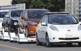 Nissan prueba autos sin conductor en una planta de Japón
