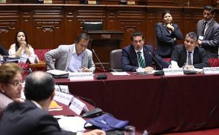 La Comisión de Constitución aprobó hoy por mayoría que el Congreso designe al procurador general de la República. (Foto: Congreso)