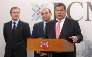 Jorge Nieto juró ayer como nuevo ministro de Defensa. (Foto: PCM)