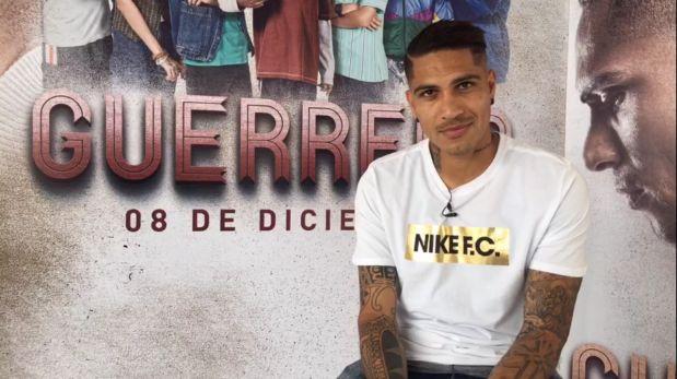 Guerreo concedió una entrevista EN VIVO a El Comercio y habló de su película, sus goles favoritos y de la selección.