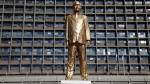 "Israel: Así es la estatua ""ilegal"" de primer ministro Netanyahu - Noticias de isaac rabin"