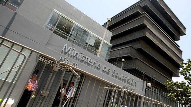 Estafadores pidieron dinero a autoridades a nombre de Minedu