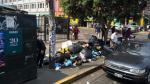 Calles llenas de basura en tercer día de huelga de trabajadores - Noticias de huelga
