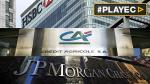 Europa multó a tres grandes bancos por manipular tasas [VIDEO] - Noticias de morgan chase