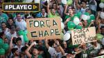 Chapecoense: Brasileños se reúnen para rendir diversos tributos - Noticias de graa pereira
