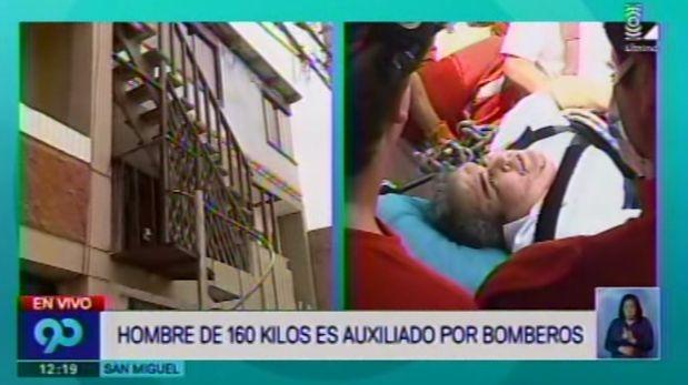 El hombre de nacionalidad venezolana estaba atrapado en su propia casa en San Miguel. (Latina)