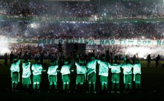 Chapecoense: el impresionante homenaje en campo de la final