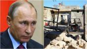 Siria: Rusia anuncia cese de bombardeos en Alepo