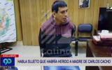 El testimonio del sospechoso de balear a madre de Carlos Cacho