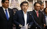 Fuerza Popular oficializó moción de censura contra Saavedra