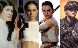 """Mujeres líderes: ellas son las heroínas de la saga """"Star Wars"""""""