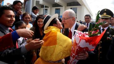 PPK y las actividades durante su visita a Ayacucho [FOTOS]