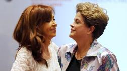 """Cristina se reúne con Dilma: """"Neoliberalismo es una enfermedad"""""""