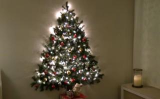 YouTube: cómo hacer un árbol de Navidad que ocupa poco espacio