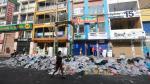 No solo Gamarra: más calles de La Victoria llenas de basura - Noticias de emporio comercial gamarra