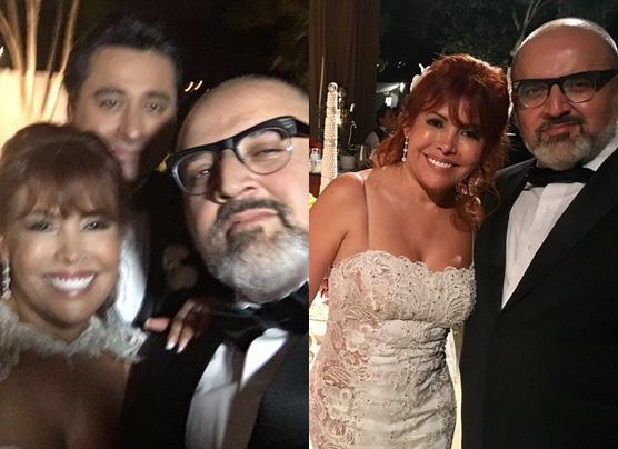Magaly Medina se casó con Alfredo Zambrano [FOTOS Y VIDEO]