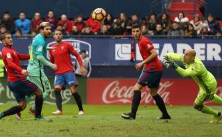 Barcelona: Messi decretó 2-0 ante Osasuna tras jugada colectiva