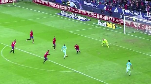 Lionel Messi ante cuatro defensores: jugadón y golazo [VIDEO:Youtube]